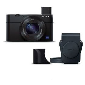Sony RX100 III with Grip and Case