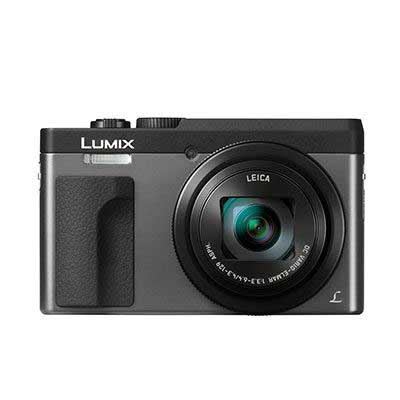 Panasonic Lumix DMCTZ90 Digital Camera  Silver
