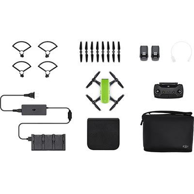 DJI Spark Mini Drone Fly More Combo - Meadow Green