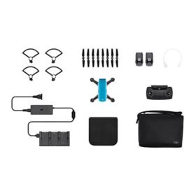 DJI Spark Mini Drone Fly More Combo - Sky Blue