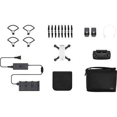 Used DJI Spark Mini Drone Fly More Combo