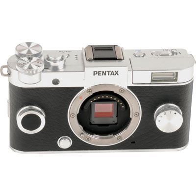 Used Pentax Q-S1 Digital Camera Body - Silver