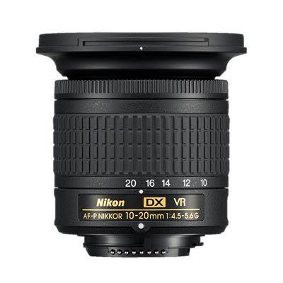 Image of Nikon 10-20mm f4.5-5.6 G AF-P DX VR Nikkor Lens