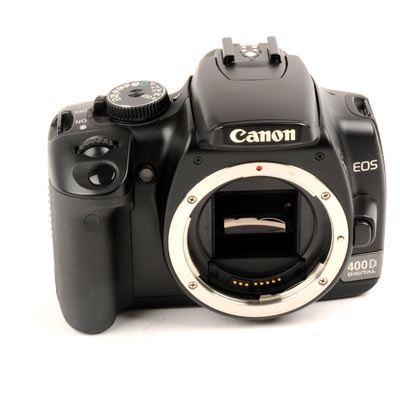 Used Canon EOS 400D Digital SLR Camera Body only Black