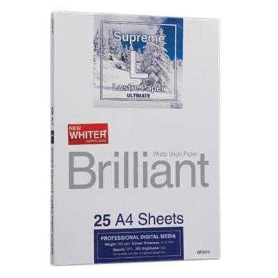 Brilliant Supreme Ultimate Lustre A4 - 25 sheets