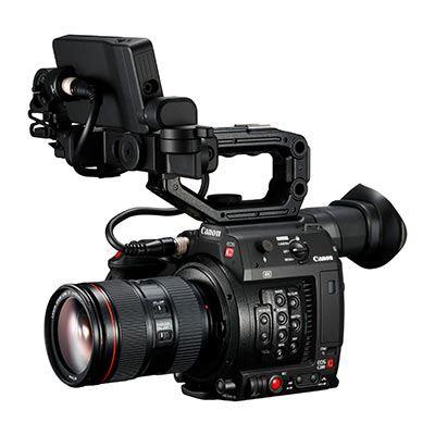 Image of Canon EOS C200 with EF 24-105mm f/4L IS II USM Lens