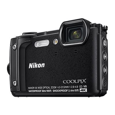 Nikon Coolpix W300 Digital Camera - Black