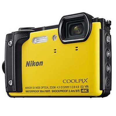 Nikon Coolpix W300 Digital Camera - Yellow
