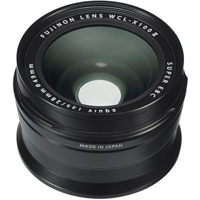 Image of Fujifilm WCL-X100 II Wide Angle Lens - Black