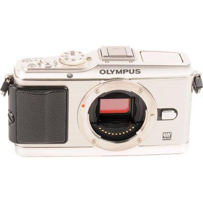 Used Olympus EP3 Digital Camera Body  Silver