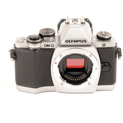 Used Olympus OMD EM10 Digital Camera Body  Silver