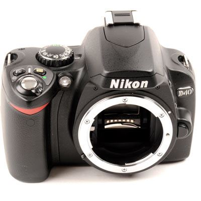 Used Nikon D40 Digital SLR Body Only