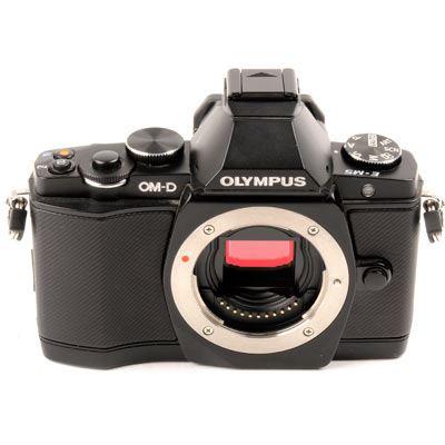 Used Olympus OMD EM5 Digital Camera Body  Black