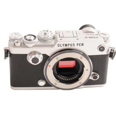 Used Olympus PENF Digital Camera Body  Silver
