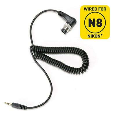 Calumet Pro Series N8 Shutter Release Cable for Select Nikon Cameras