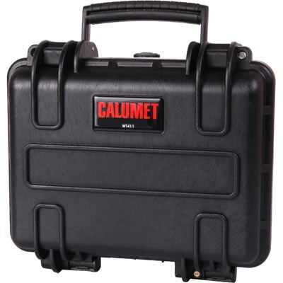 Used Calumet WT411 Water Tight Hard Case - Black