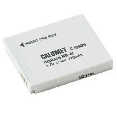 Calumet NB-4L Replacement Battery for Canon