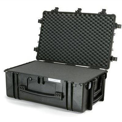 Calumet WT6840 Water Tight Rolling Hard Case - Black