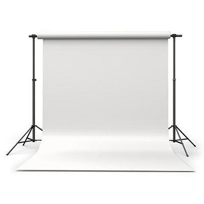 Calumet Polar White 2.72m x 11m Seamless Background Paper
