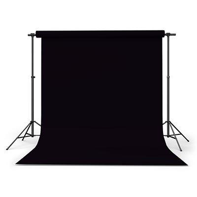 Calumet Black 2.72m x 11m Seamless Background Paper