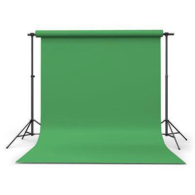 Calumet Chromagreen 2.72m x 11m Seamless Background Paper