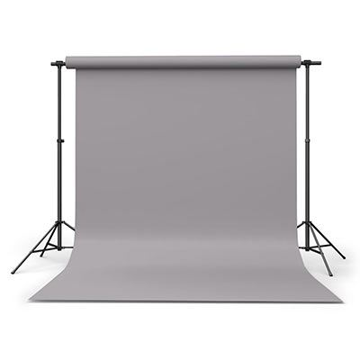 Calumet Storm Grey 2.72m x 11m Seamless Background Paper