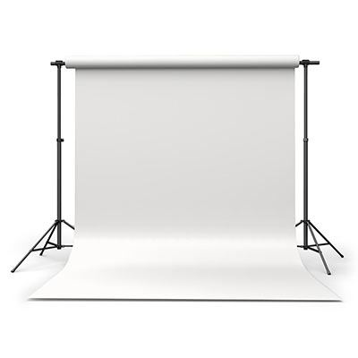 Calumet Polar White 1.35m x 11m Seamless Background Paper