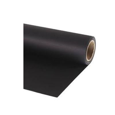 Image of Calumet Black 1.35m x 11m Seamless Background Paper
