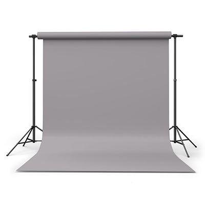 Calumet Storm Grey 1.35m x 11m Seamless Background Paper