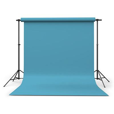 Calumet Sky Blue 1.35m x 11m Seamless Background Paper