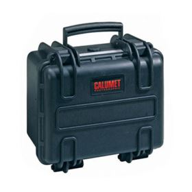 Calumet WT585 Water Tight Hard Case - Black