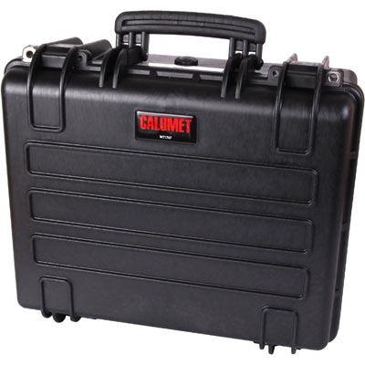 Used Calumet WT1747 Water Tight Hard Case - Black