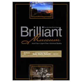 Brilliant Museum Inkjet Paper - SilverGloss Natural A3+ 25 sheets