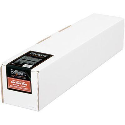 Brilliant Museum Inkjet Paper - Satin Matte White 610 mm x 12m (1 roll) - 300gsm