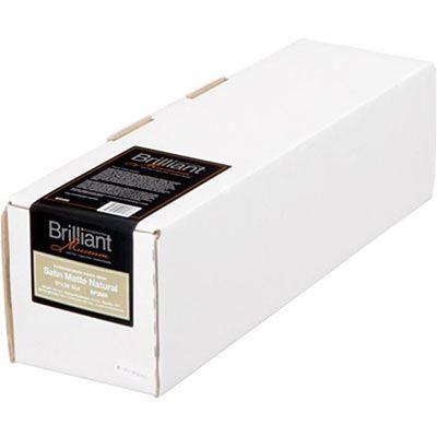 Brilliant Museum Inkjet Paper - Satin Matte Natural 432mm x 12m (1 roll) - 300gsm