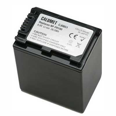 Image of Calumet NP-FH100 Replacement Li-Ion Rechargeable Battery Pack