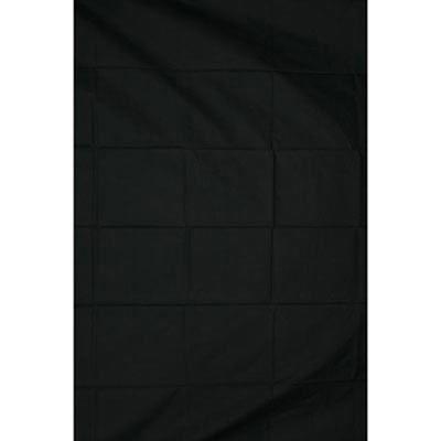 Calumet On-Site Black Muslin Background - 2.4 x 2.4m