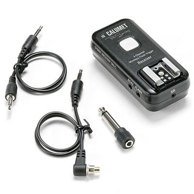 Image of Calumet Pro Series 2.4 GHz 4-Channel Wireless Receiver - Canon