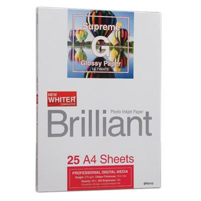 Brilliant Supreme Ultimate Glossy Inkjet Paper - A4 25 sheets