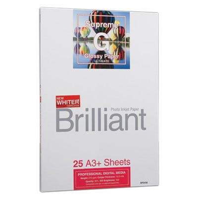 Brilliant Supreme Glossy A3+ x 25 sheets