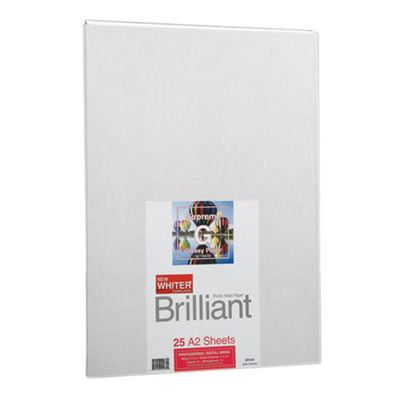 Brilliant Supreme Glossy A2 x 25 sheets