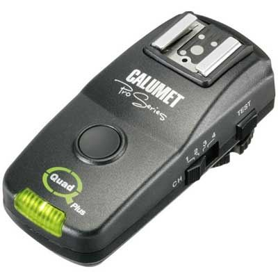 Image of Calumet Quad Plus 2.4GHz Wireless Receiver for Nikon Flash Systems