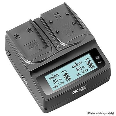 Prospec Twin-Channel Battery Charger