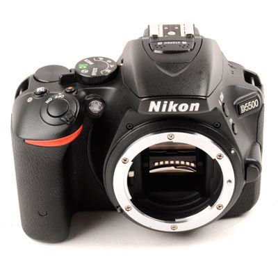 Used Nikon D5500 Digital SLR Camera Body  Black