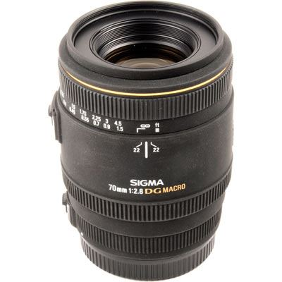 Used Sigma 70mm f2.8 EX DG Macro Lens - Sony/Minolta Fit