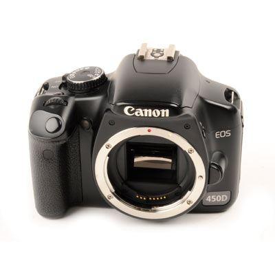 Used Canon EOS 450D Digital SLR Camera Body