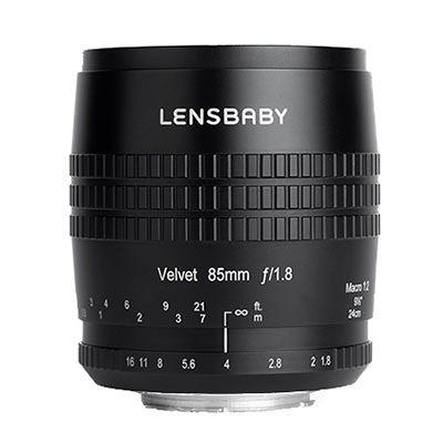 Lensbaby Velvet 85mm f1.8 Lens - Canon EF