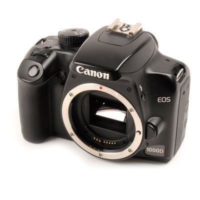 Used Canon EOS 1000D Digital SLR Camera Body