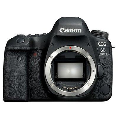 Image of Canon EOS 6D Mark II Digital SLR Camera Body