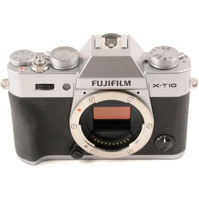 Used Fuji XT10 Digital Camera Body  Silver